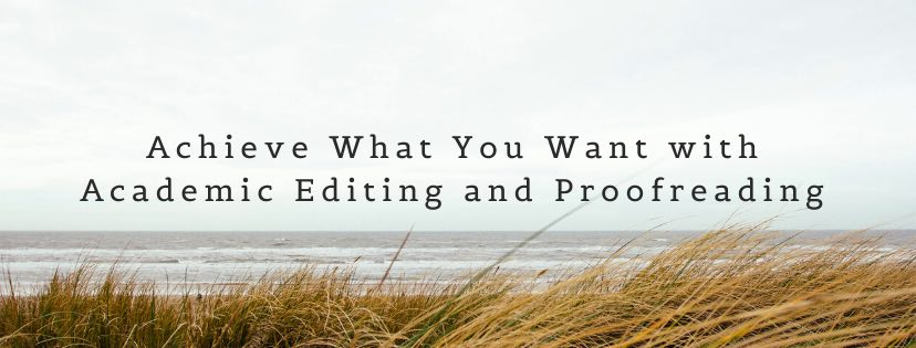 Academic editing and proofreading services