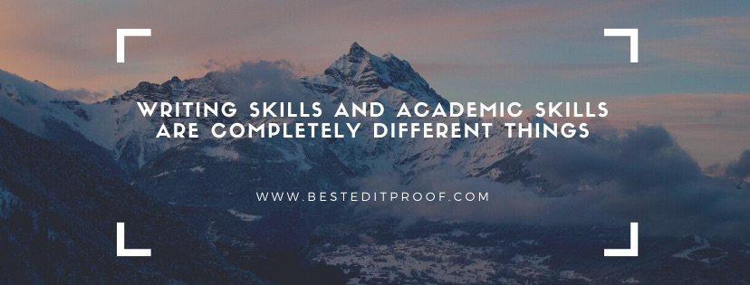 academic editing and proofreading