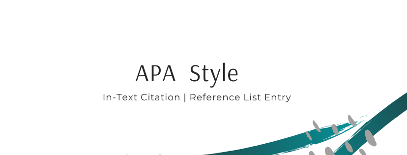 In-Text Citation | Reference List Entry